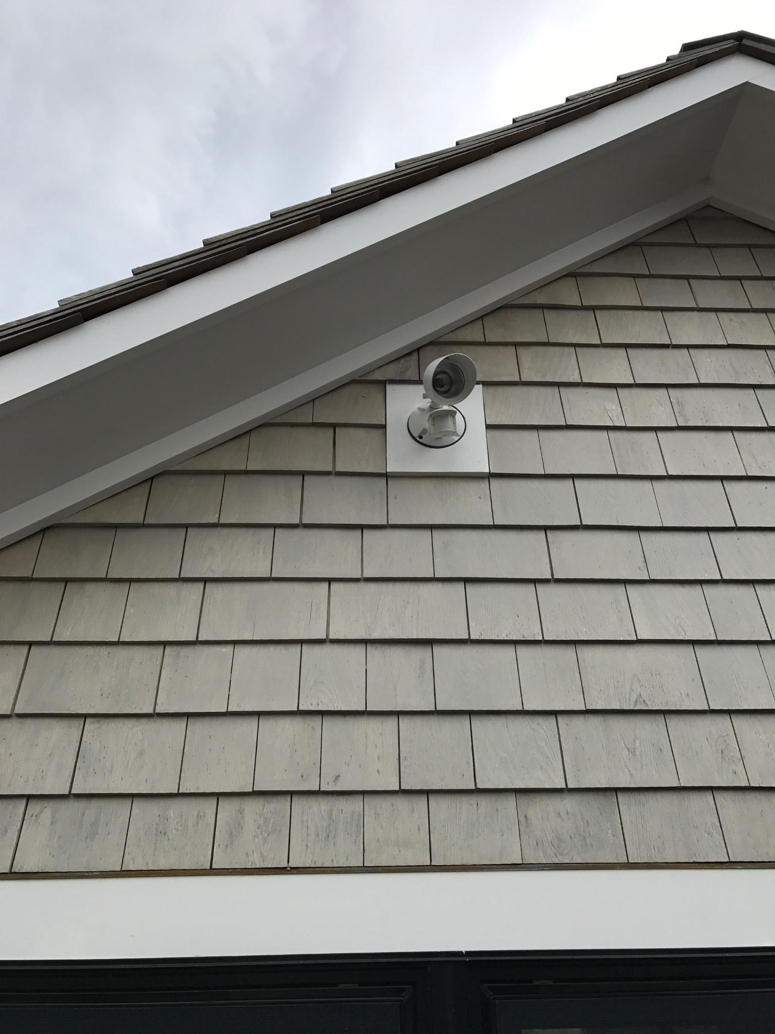 camera security wiring