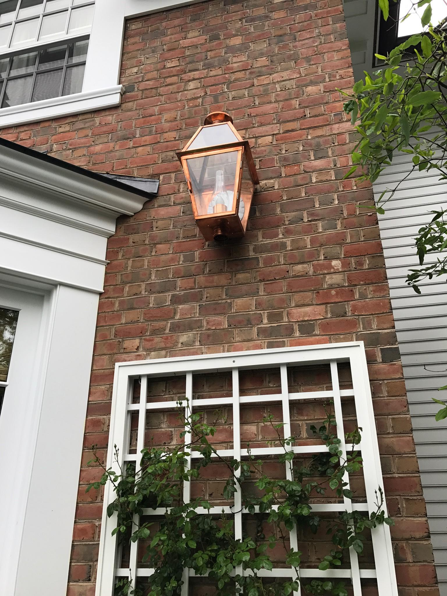 brick electrical outdoor