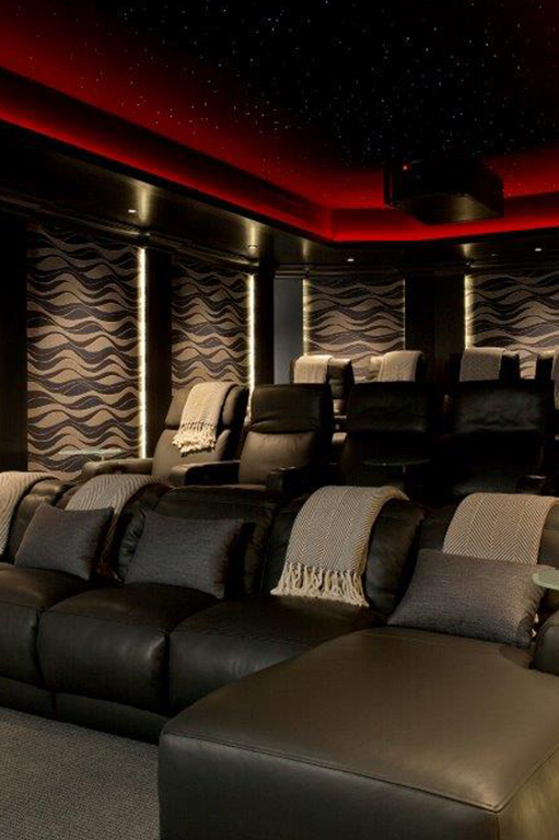 movie room lighting